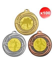 Pack de 100 Médailles ø45mm T-M434 x100