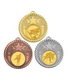 Médaille 50mm avec Pastille - T-M595D - T-M595A - T-M595B