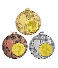 Médaille 50mm avec Pastille - T-M596D - T-M596A - T-M596B