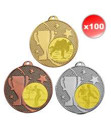 Pack de 100 Médailles ø50mm T-M596 x100