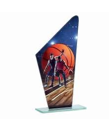 Trophée Verre Basket Homme - F-66102