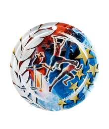 Médaille Céramique Couleurs 70mm Athlétisme - F-NA01