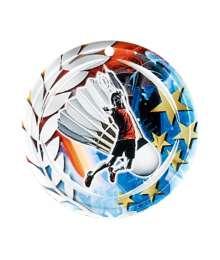Médaille Céramique Couleurs 70mm Badminton - F-NA02