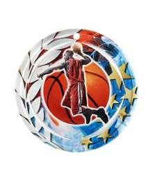 Médaille Céramique Couleurs 70mm Basket Homme - F-NA04