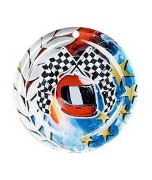 Médaille Céramique Couleurs 70mm Course Automobile - F-NA08