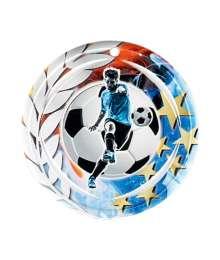 Médaille Céramique Couleurs 70mm Football - F-NA13
