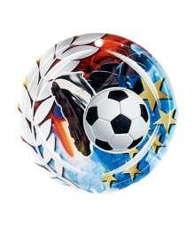 Médaille Céramique Couleurs 70mm Football - F-NA14