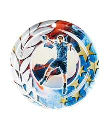 Médaille Céramique Couleurs 70mm Handball - F-NA18