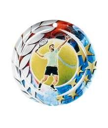 Médaille Céramique Couleurs 70mm Tennis Homme - F-NA27