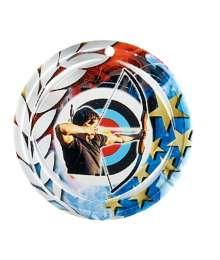 Médaille Céramique Couleurs 70mm Tir à l'arc - F-NA28
