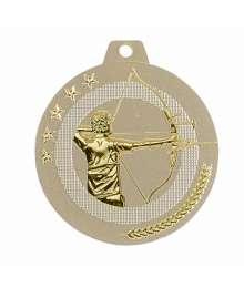 Médaille Frappée 50mm Tir à l'arc - F-NQ14D