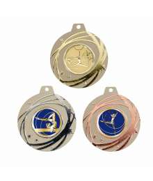 Médaille 50mm avec Pastille - 8454