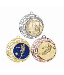 Médaille 70mm avec Pastille - F-004