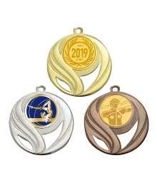 Médaille 50mm avec Pastille - B-8240