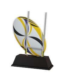 Trophée Acrylique EXCLUSIVITE Rugby - BA-FA210A-M22