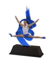 Trophée Acrylique EXCLUSIVITE Gymnastique Homme - BA-FA210A-M30