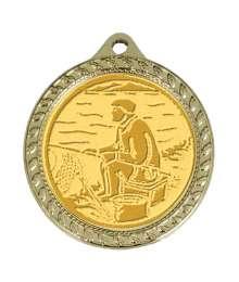 Médaille 32mm avec Pastille - CH-01 Or