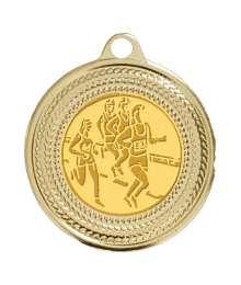Médaille 40mm avec Pastille - CH-02 Or
