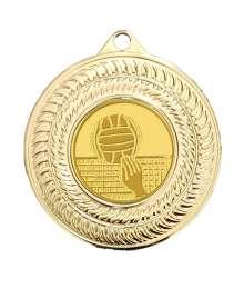 Médaille 50mm avec Pastille - CH-03 Or