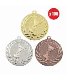 Pack de 100 Médailles Frappées 50mm Victoire - BS-DI5000.A.01 - BS-DI5000.A.02 - BS-DI5000.A.27 x100