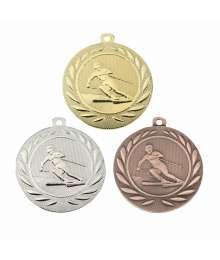 Médaille Frappée 50mm Ski - BS-DI5000.Q.01 - BS-DI5000.Q.02 - BS-DI5000.Q.27