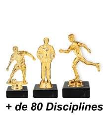Trophée Multi-Sport B-M410 + sujet D - B-M420 + sujet D - B-M430 + sujet D
