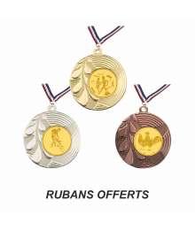 Médaille 50mm avec Pastille - B-BSM73.01 - B-BSM73.02 - B-BSM73.27