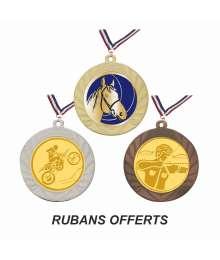 Médaille 70mm avec Pastille - B-M9313.01 - B-M9313.02 - B-M9313.27