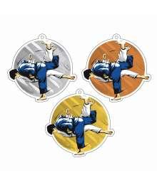 Exclusivité Médaille Acrylique 50mm Judo Homme - MDA00M88