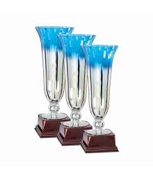 Lot de 3 Coupes Podium Verre F-7121 - F-7122 - F-7123