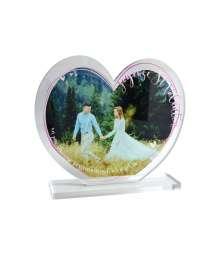 Cadre photo acryglass Coeur Edition Valentin