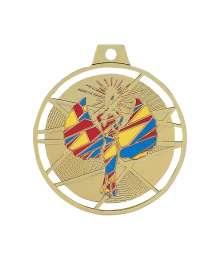Médaille émaillée frappée Victoire 70mm - F-BX12D