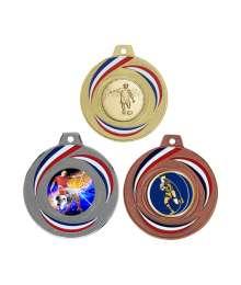 Médaille 50mm avec Pastille - F-Q015D - F-Q015A - F-Q015B