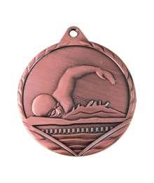 Médaille Frappée 32mm Natation - 7784DESTOCKAGE