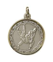 Médaille Frappée 32mm Judo - M01