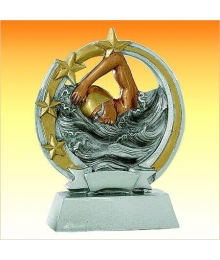 Trophées Résine Natation homme 4146