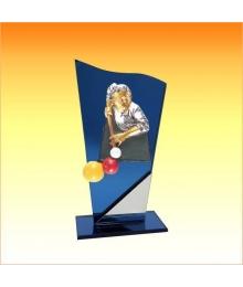 Trophées avec sujets NR Billard 3753ET1.NR6