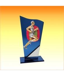 Trophées avec sujets NR Cross Homme 3753ET1.NR11