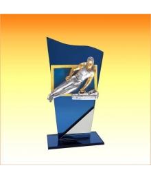 Trophées avec sujets NR Gymnastique Homme 3753ET1.NR25
