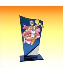 Trophées avec sujets NR AGRS Gymnastique Femme 3753ET1.NR27