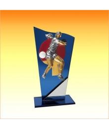 Trophées avec sujets NR Tennis de Table Femme 3753ET1.NR51