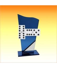 Trophées avec sujets NR Dominos 3753.NR65