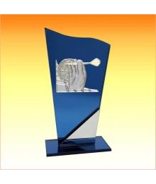 Trophées avec sujets NT Fléchettes 3753.NT09