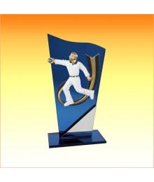 Trophée avec sujet P Pétanque Homme 3753P518