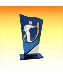 Trophée avec sujet P Pétanque Homme 3753P628ET1