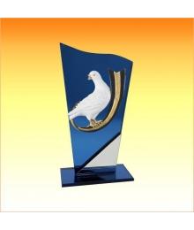 Trophée avec sujet P Pigeon 3753P593ET1