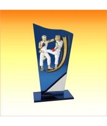 Trophée avec sujet P Boxe Thaï 3753P521