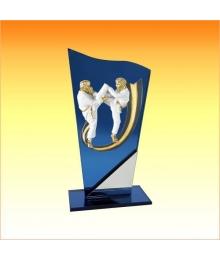 Trophée avec sujet P Karaté 3753P574ET1