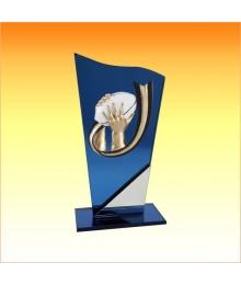 Trophée avec sujet P Rugby 3753P601