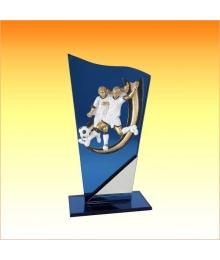Trophée avec sujet P Foot Féminin 3753P558ET1